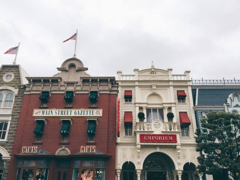 Main Street facades