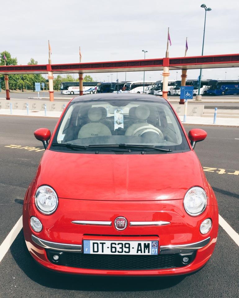 Cute lil Fiat