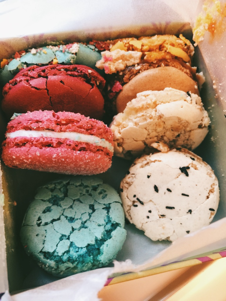 macarons sad day