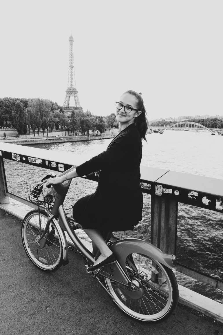 Eiffel Tower + me