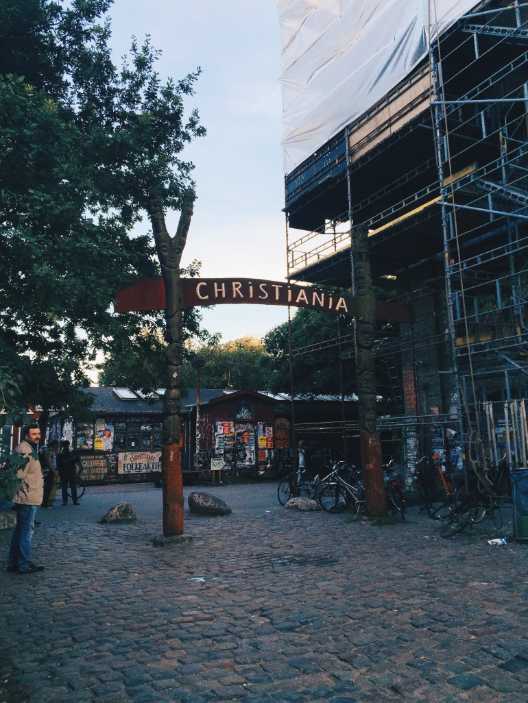 Walk to Christiania