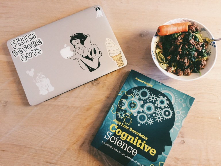 Dinner + homework