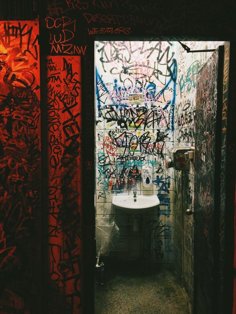El Barrio bathroom