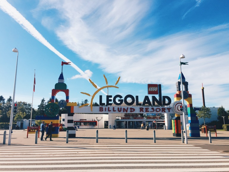Legoland Billund Sign