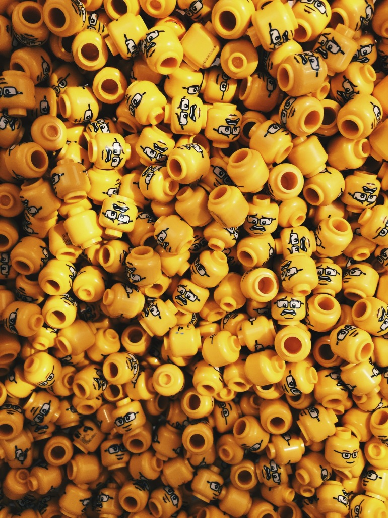 All the Lego heads