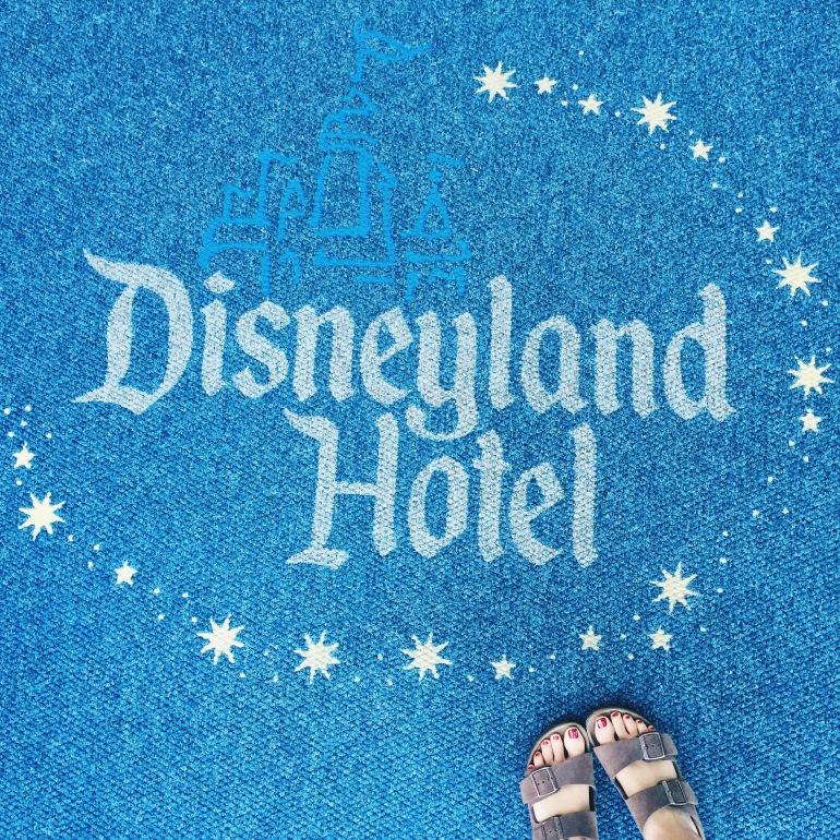 Disneyland Hotel + birks