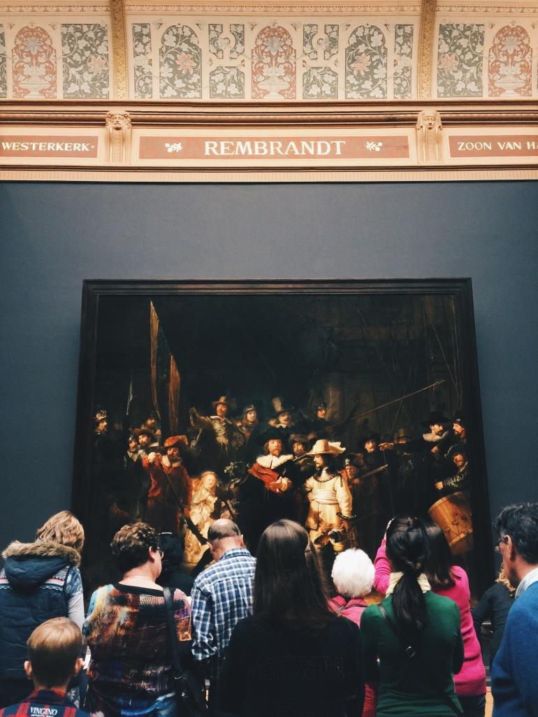 Rembrandt + peeps