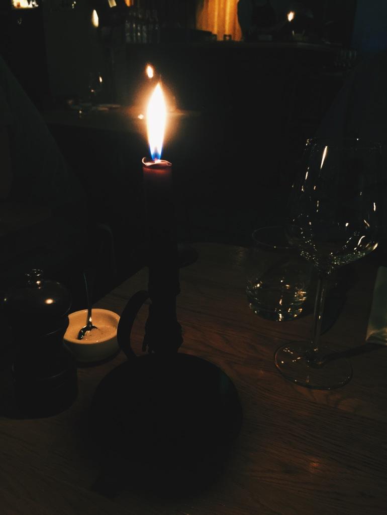 lobby candlelight