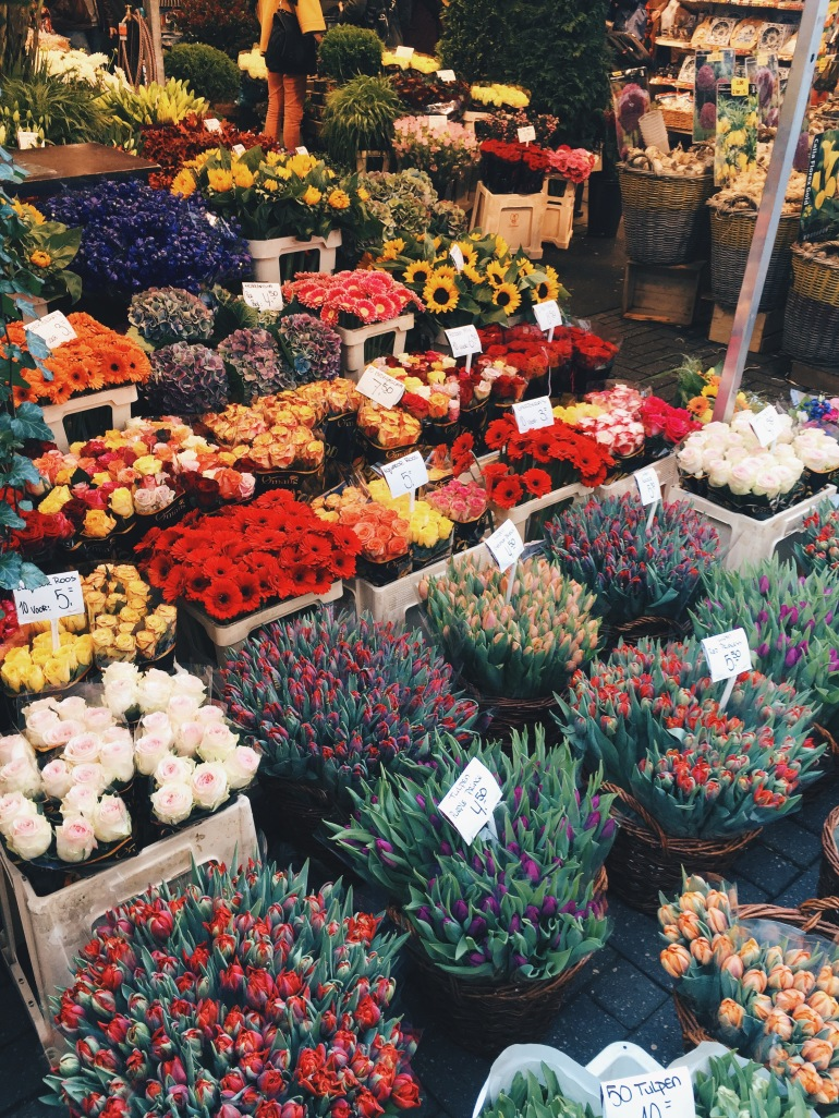 Flower Markets - actual flowers