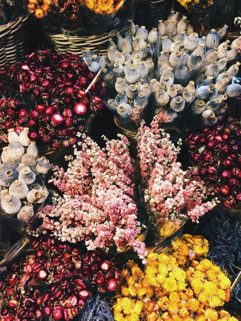 DRIED Flower Markets