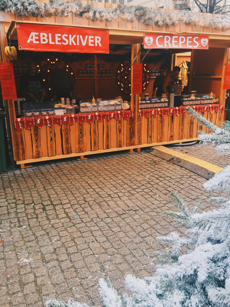 Christmas Market - aebelskiver