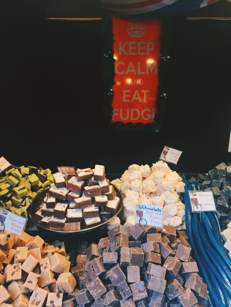Christmas Market - fudge