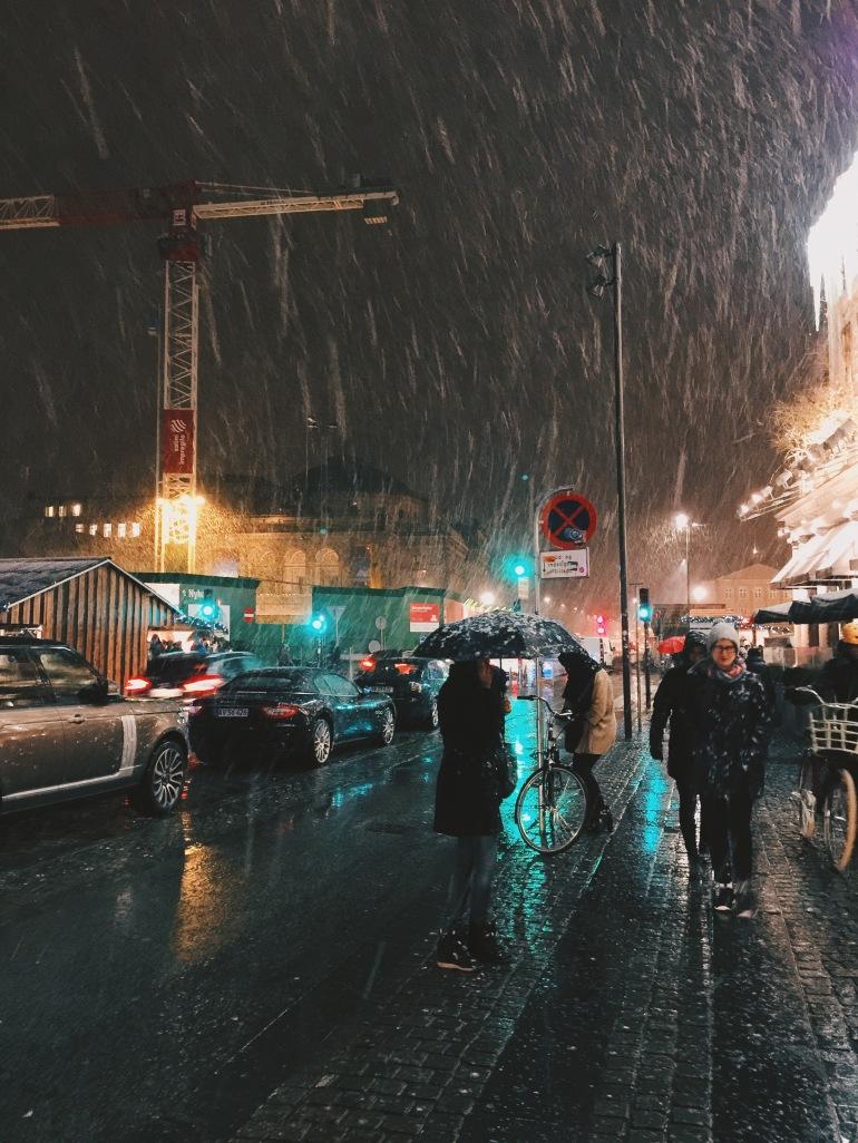 Snowy D'Angleterre