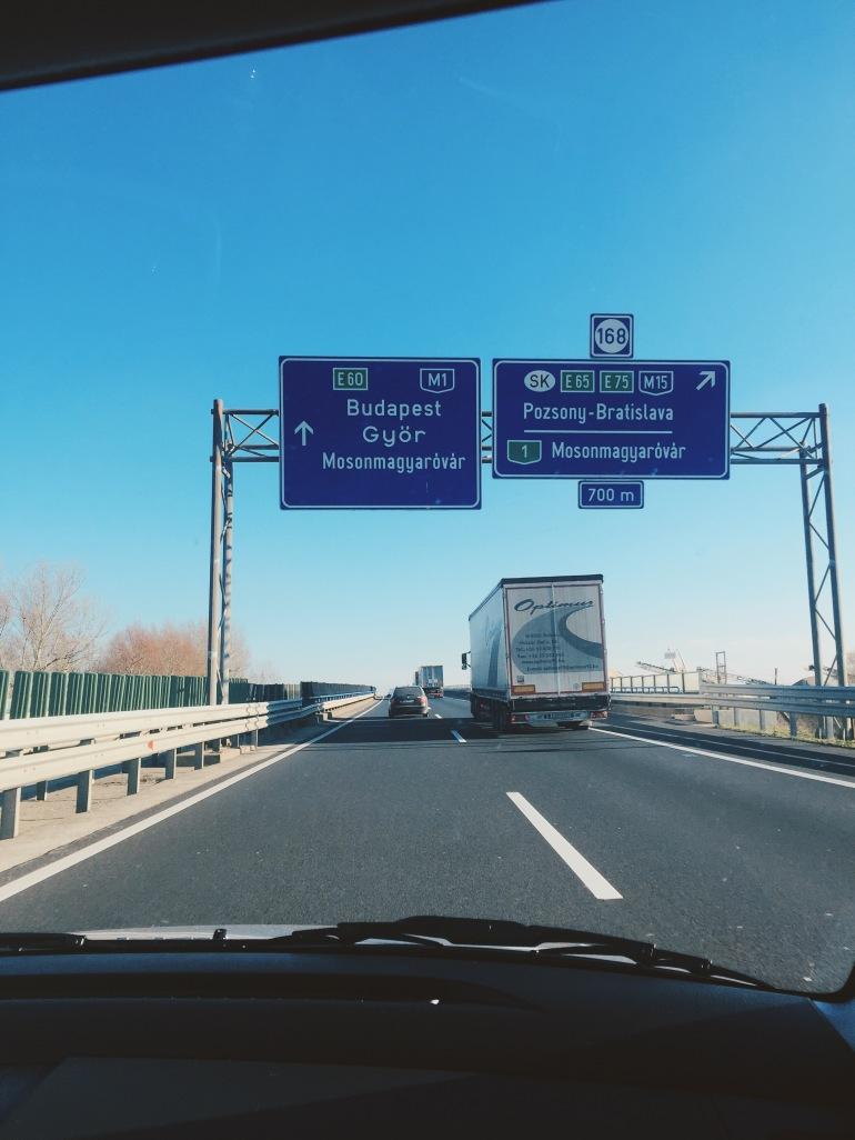 To Budapest we go!