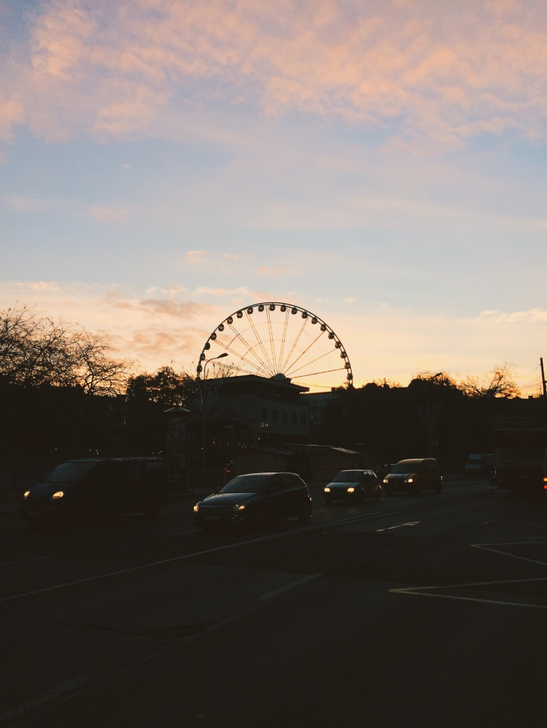 Sunset - carousel