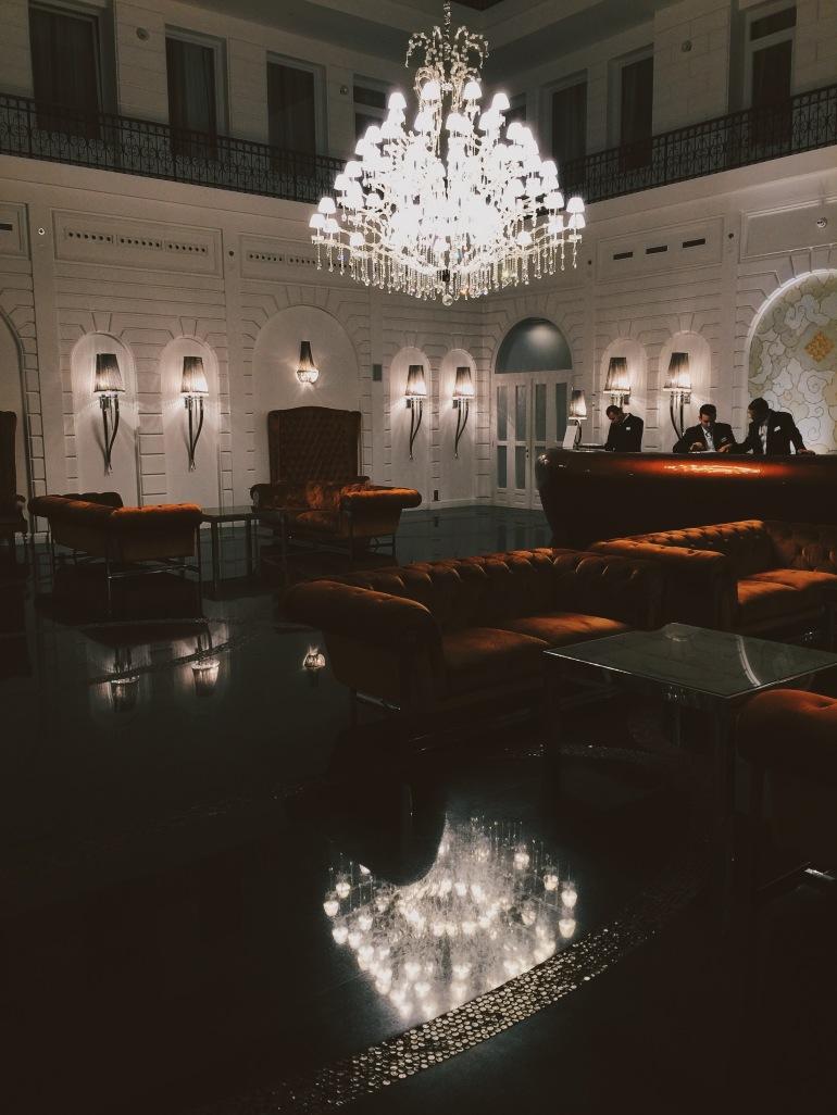 Costes hotel lobby