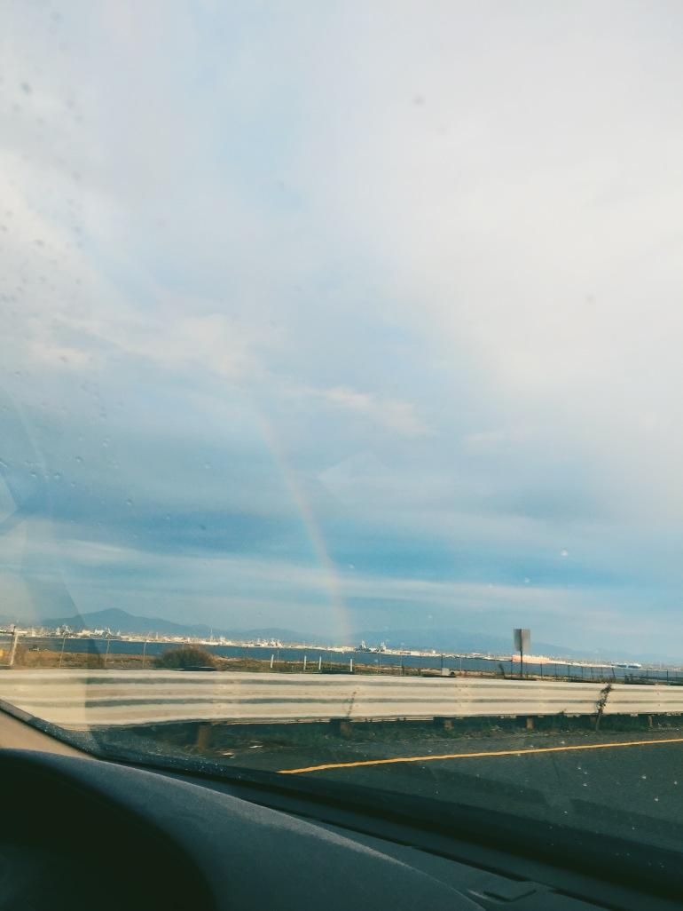 San Diego - rainbow