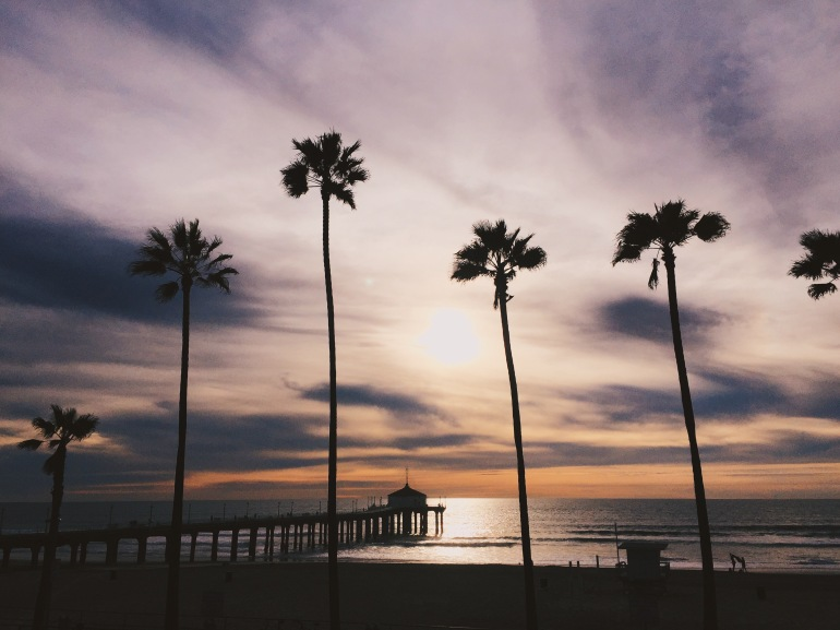 MB Pier sunset