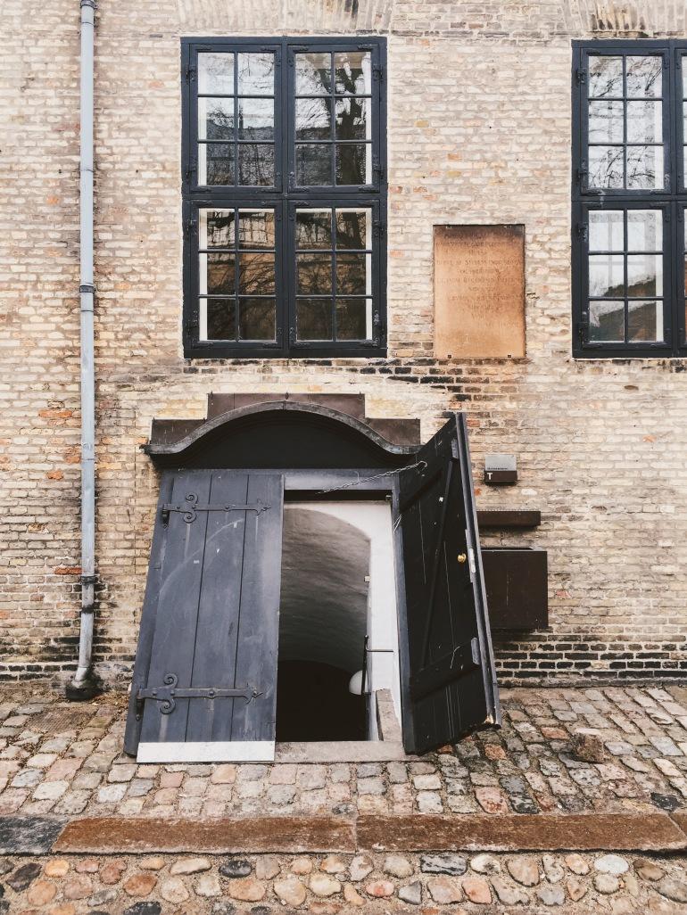 UCPH basement door
