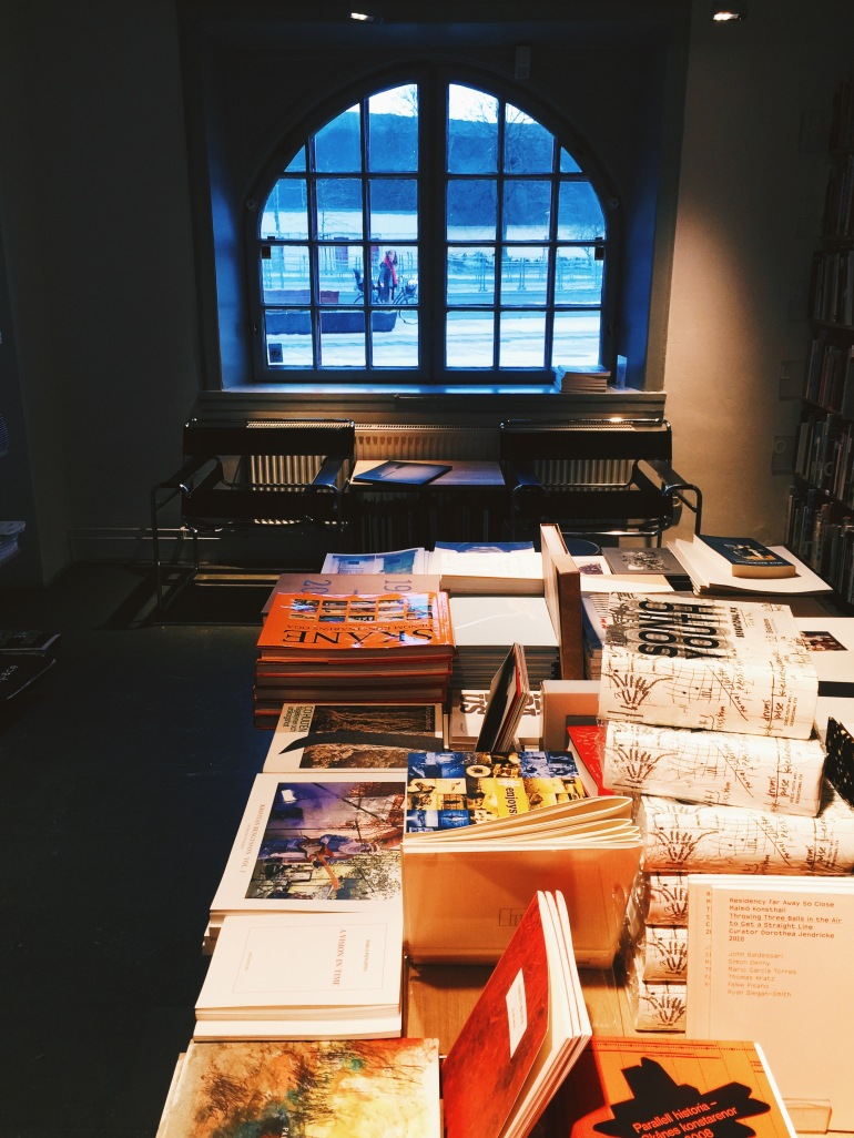 Art museum bookshop