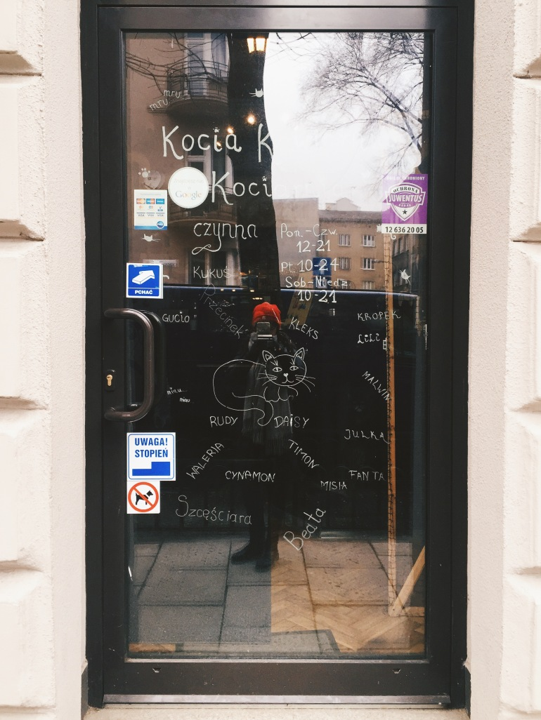 Kitty coffee - door