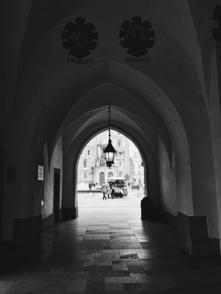 Cloth hall - B&W