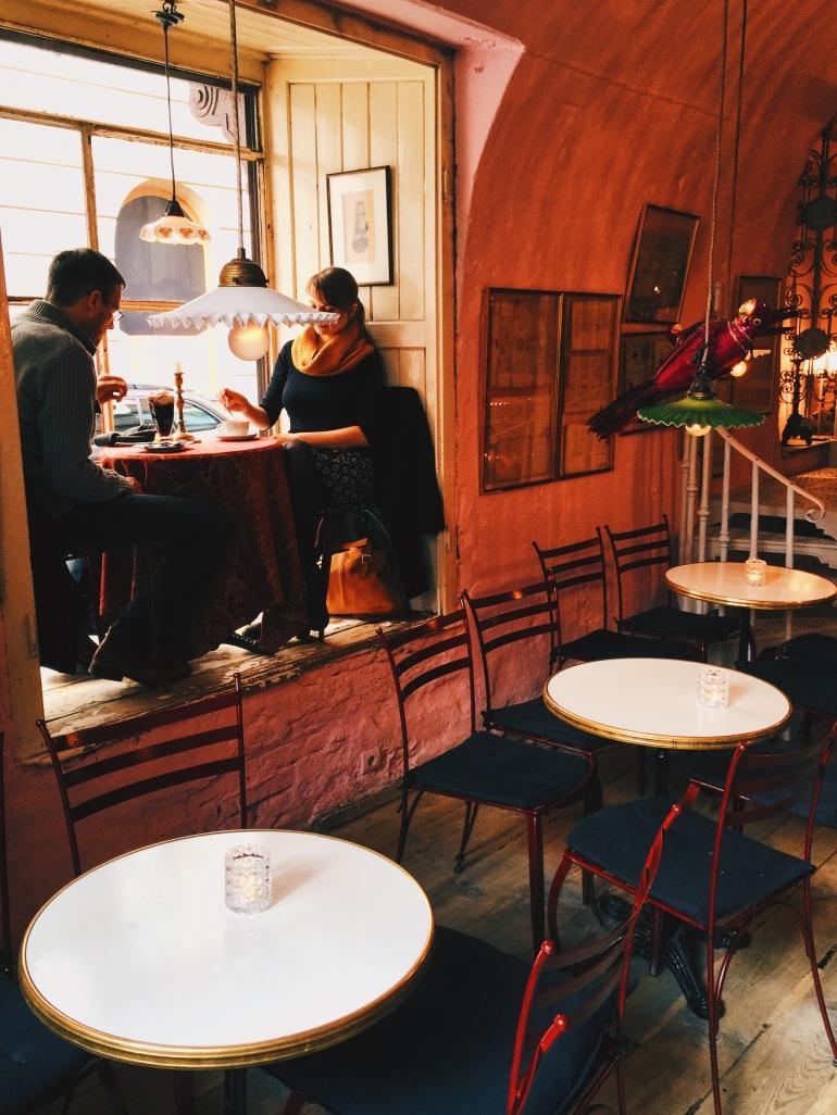 Camelot Cafe interior