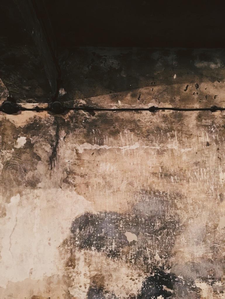 Auschwitz wall