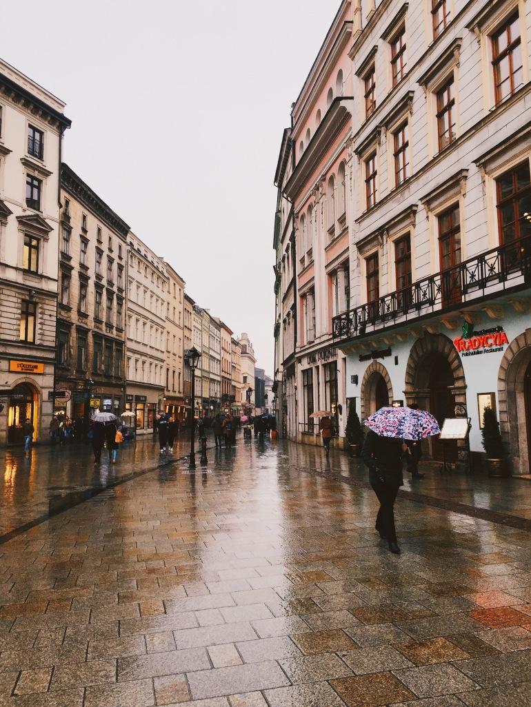 Rainy Rynek Glowny