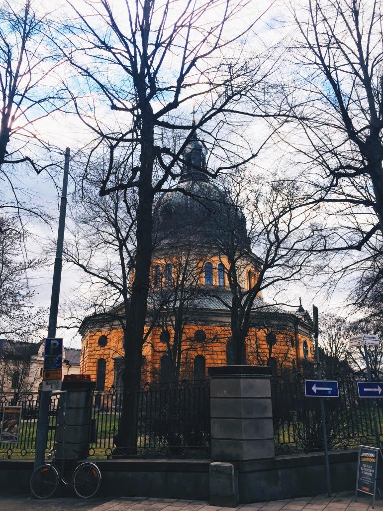 Wanderings - pretty church thing