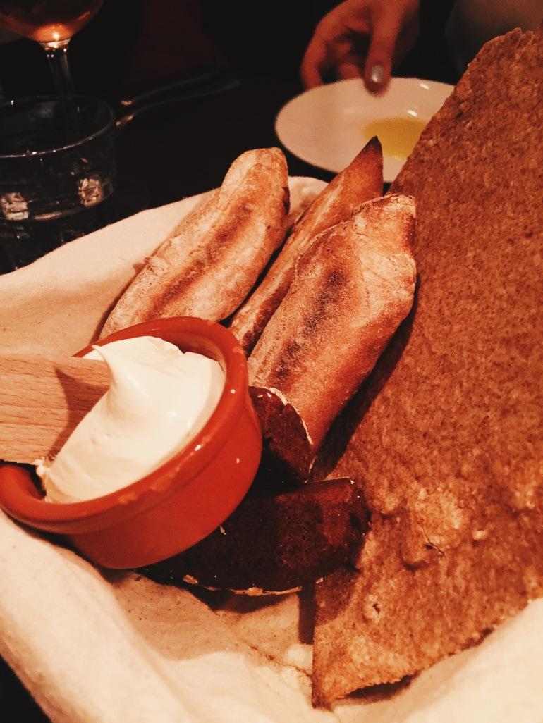 Dinner - bread