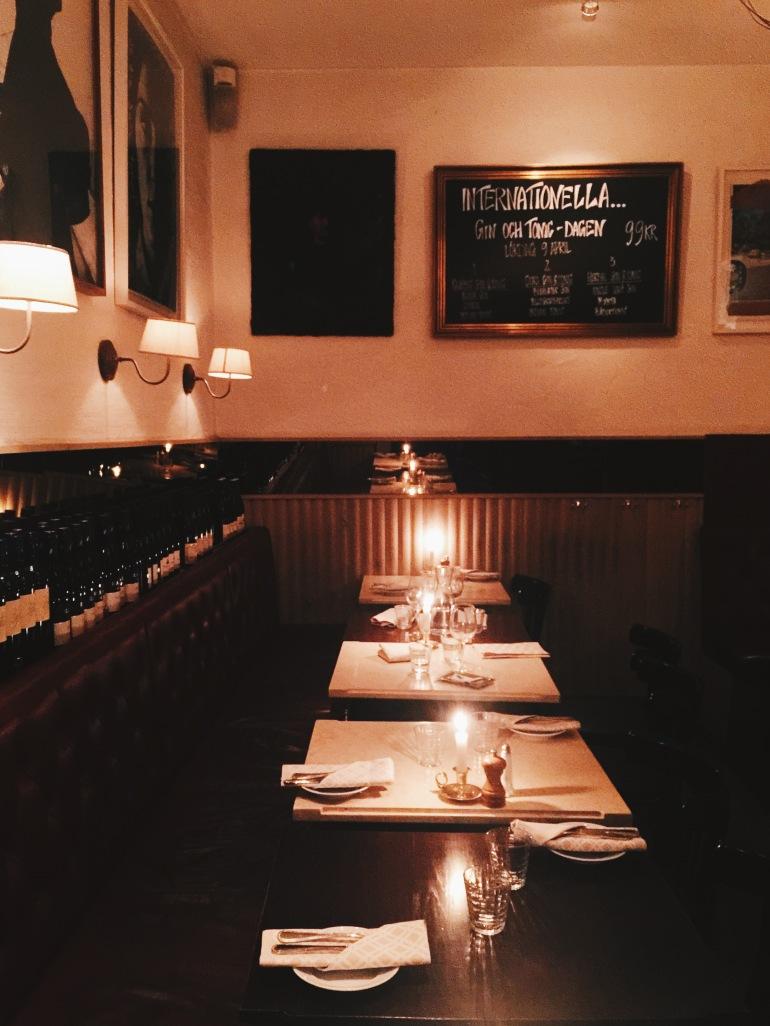 Dinner - dining room