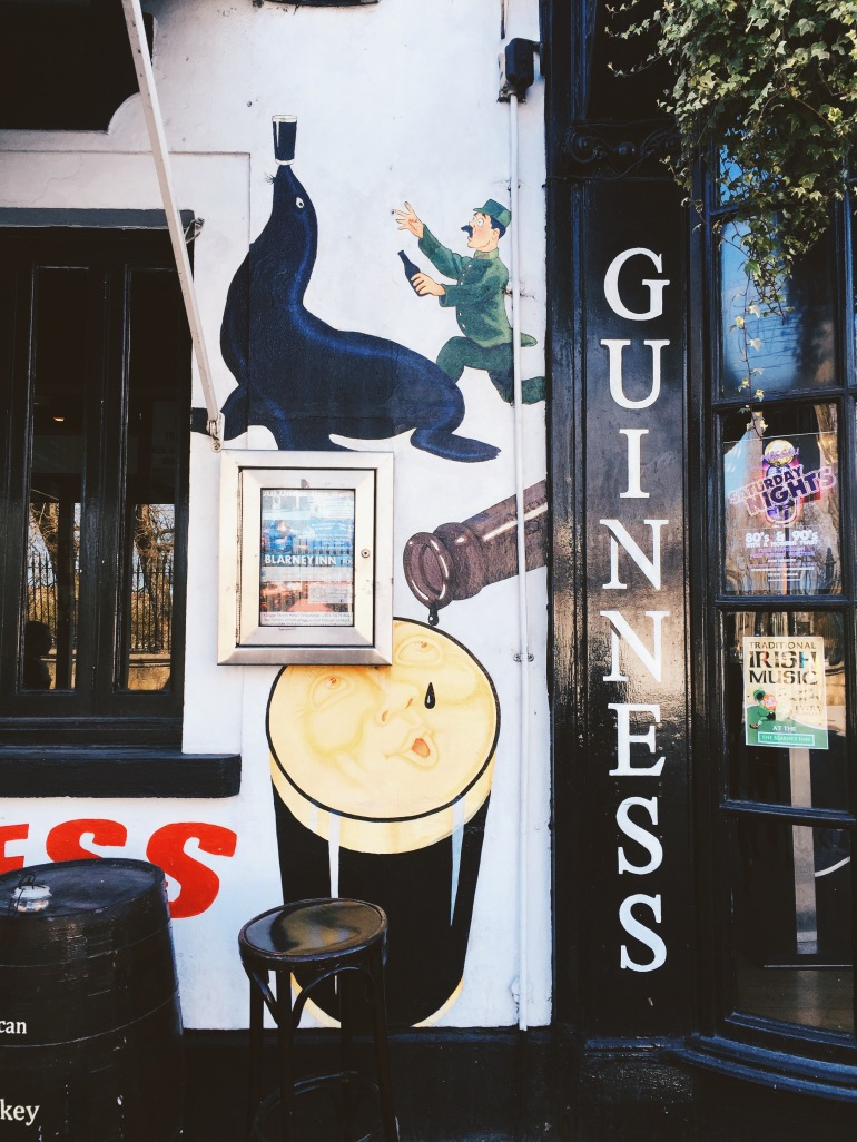 Wanderings - guinness painting