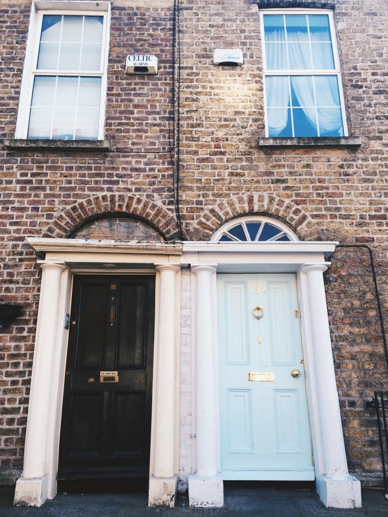 Wanderings - doors of Dublin