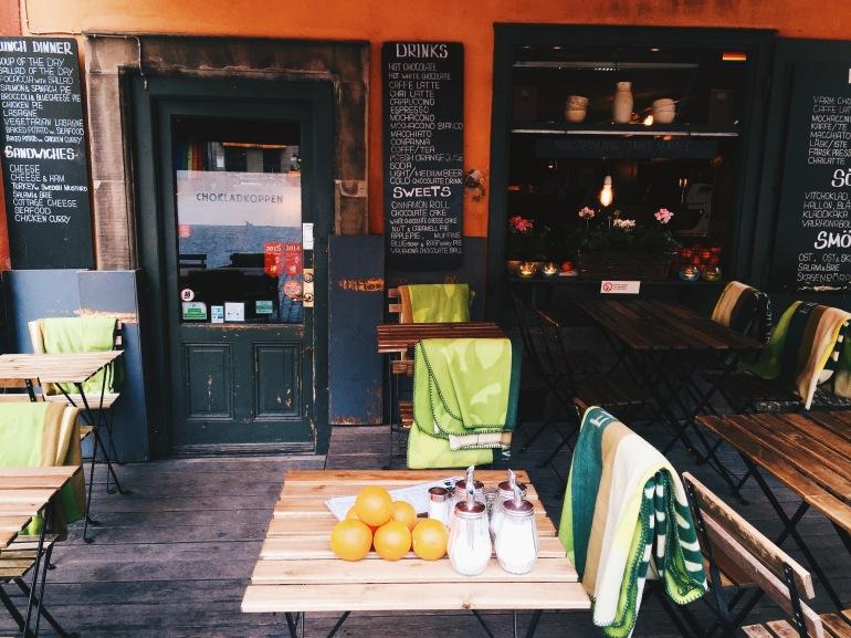 Gamla Stan - cafe