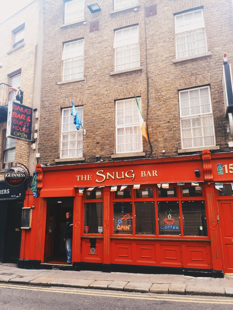 Touristing - in search of a pub