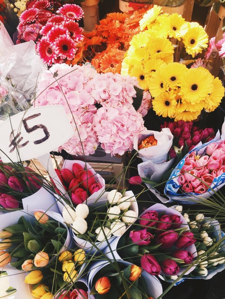 Touristing - found flowers