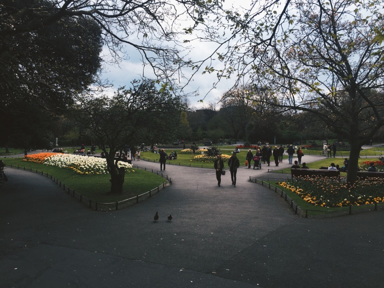 Touristing - St. Stephen's Green - TULIPS