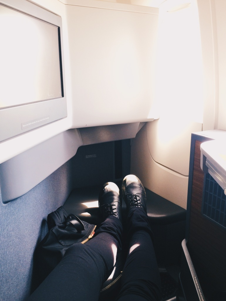 Business class - seat