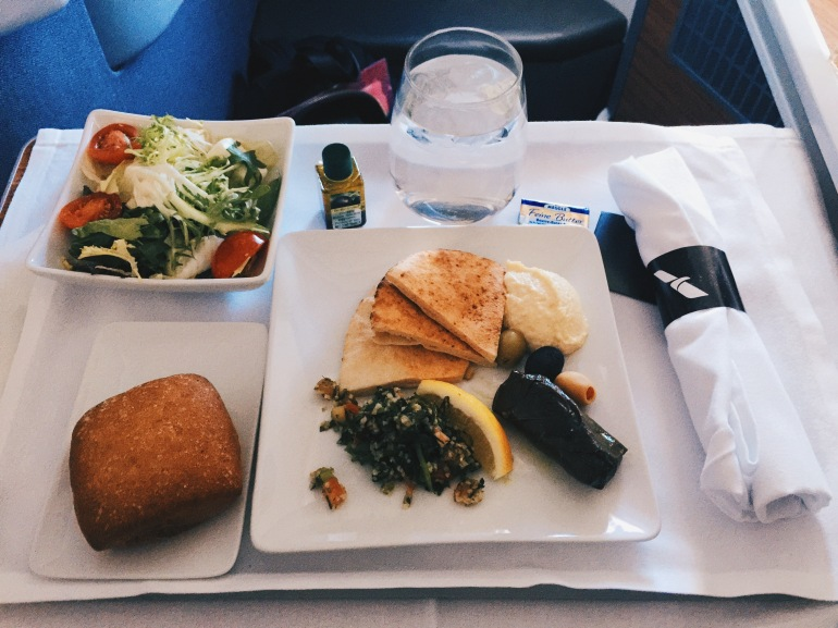 Business class - eats
