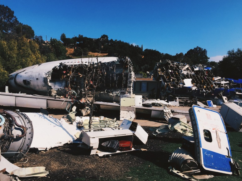 Universal plane crash