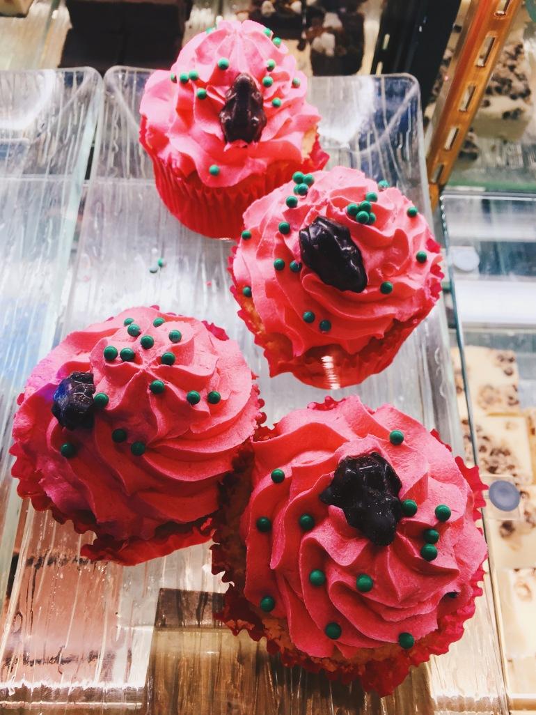 Hogsmeade cupcakes