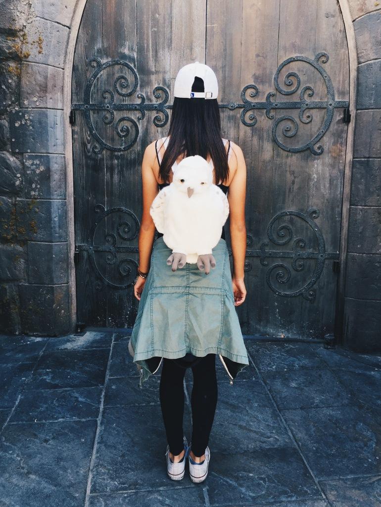 Kasey's backpack