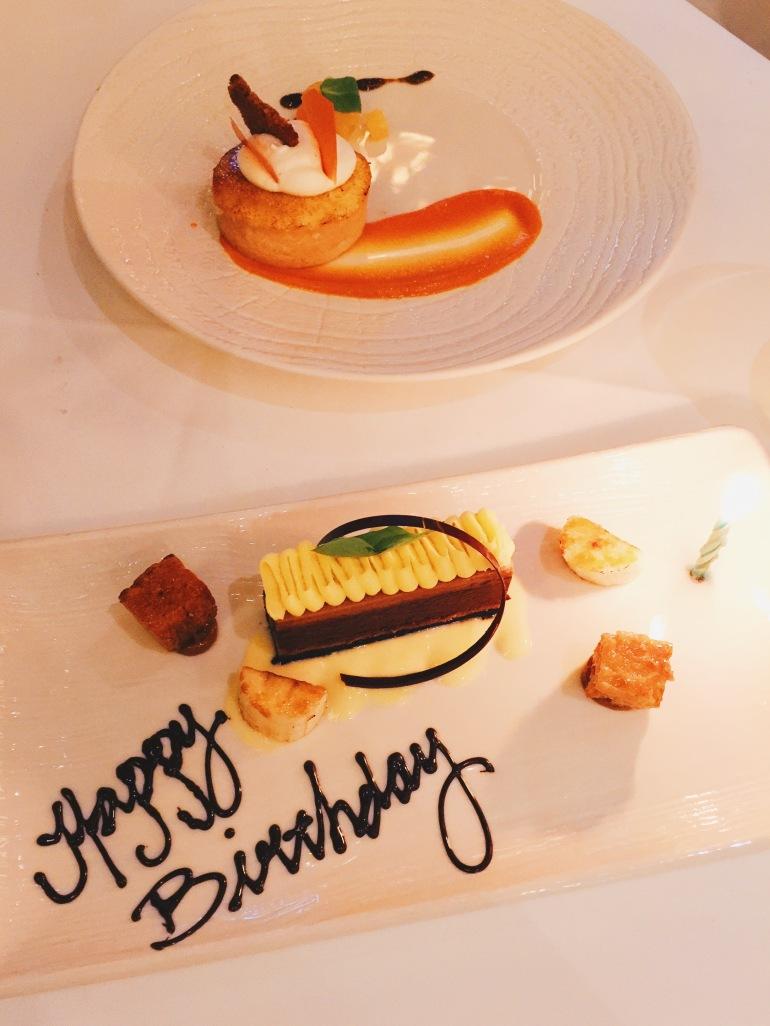 HBD desserts