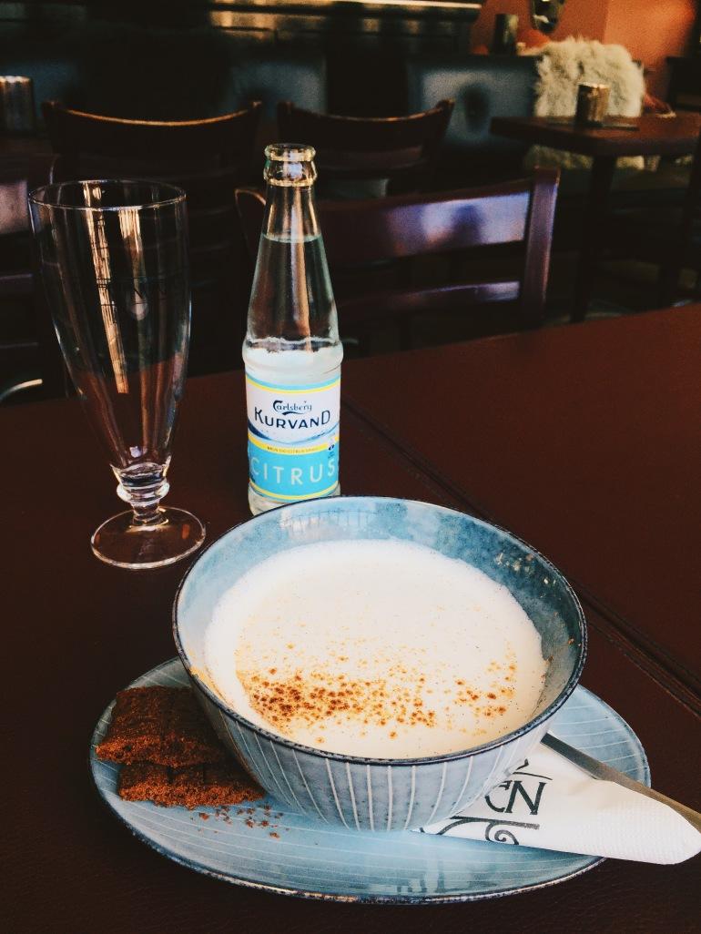CafeNorden chai latte