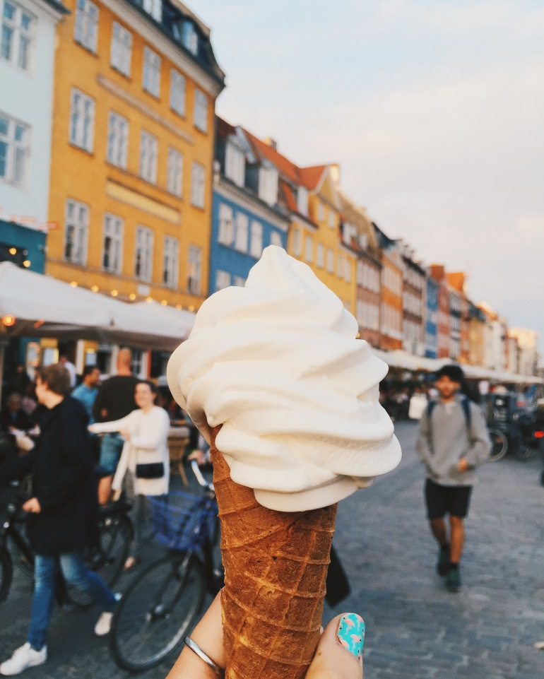 Nyhavn ice cream numero two