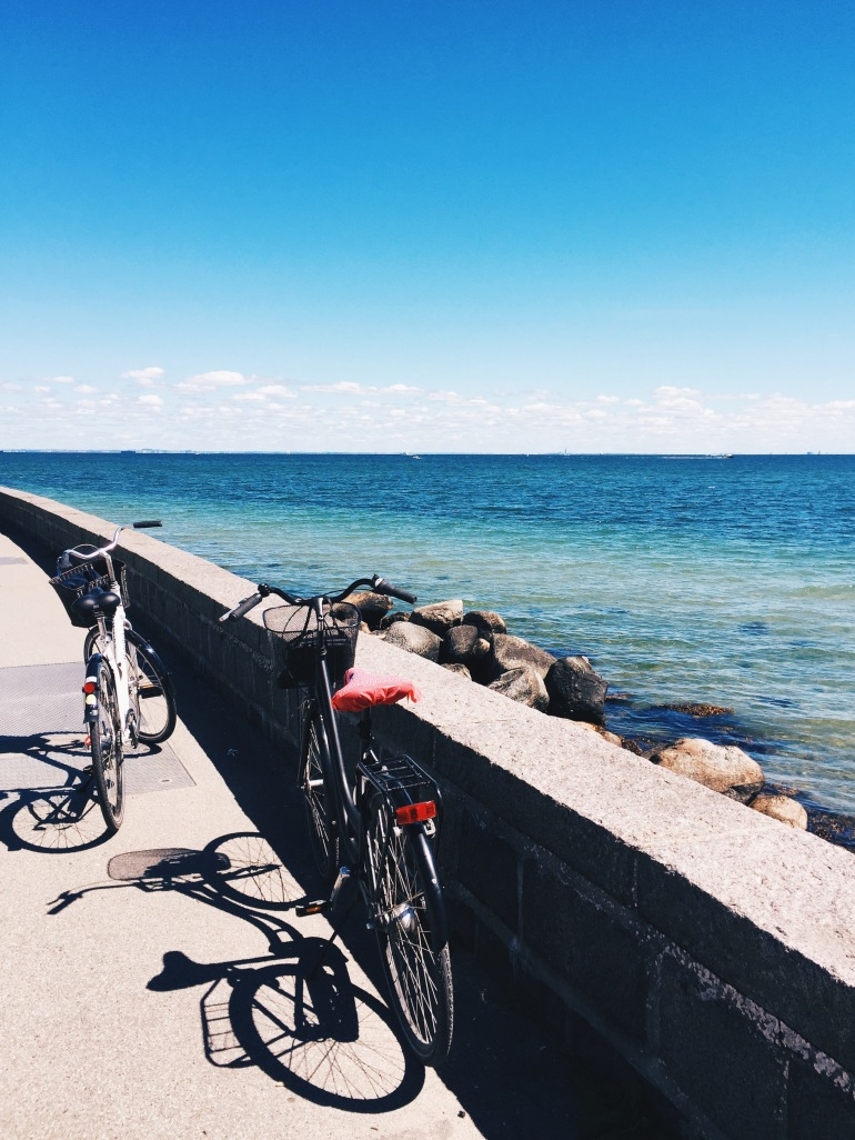 Water + bikes