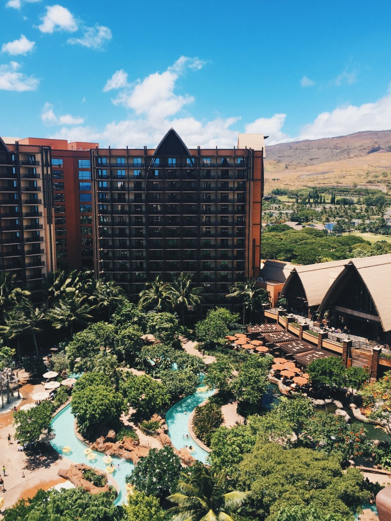 Aulani - views