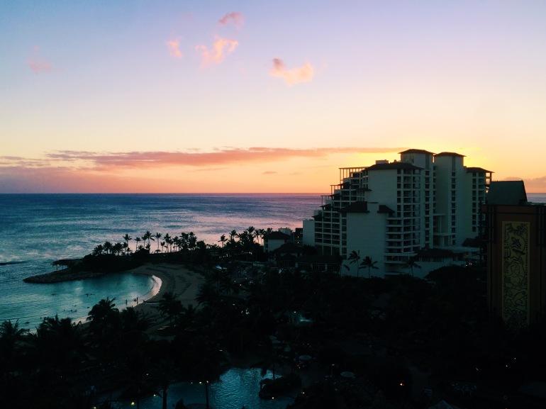 Aulani - sunset gorgeoussss