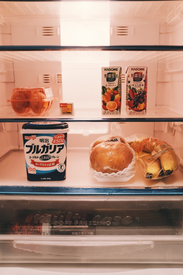 airbnb fridge